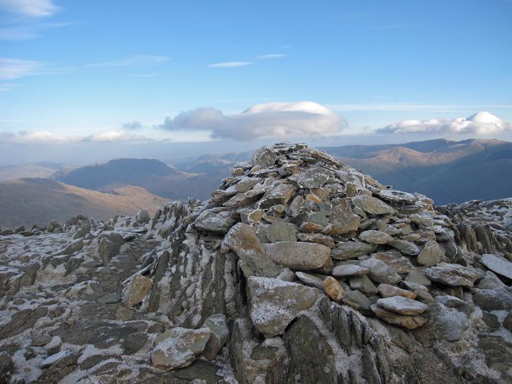 Hart Crag's summit cairn