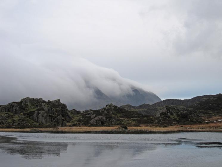 Pillar in cloud but Pillar Rock can just be seen