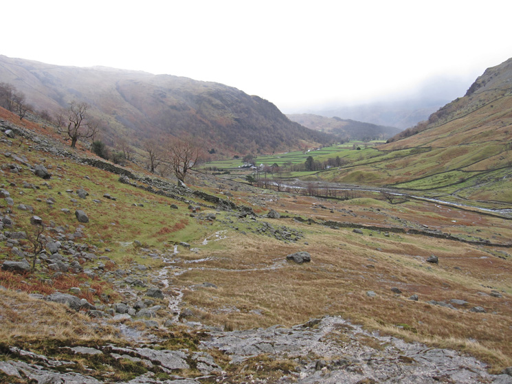 Seathwaite Farm ahead