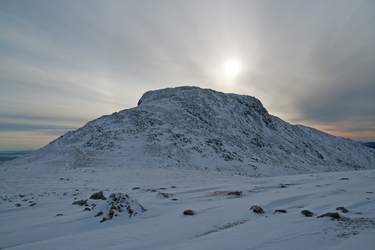 Esk Pike from Esk Hause