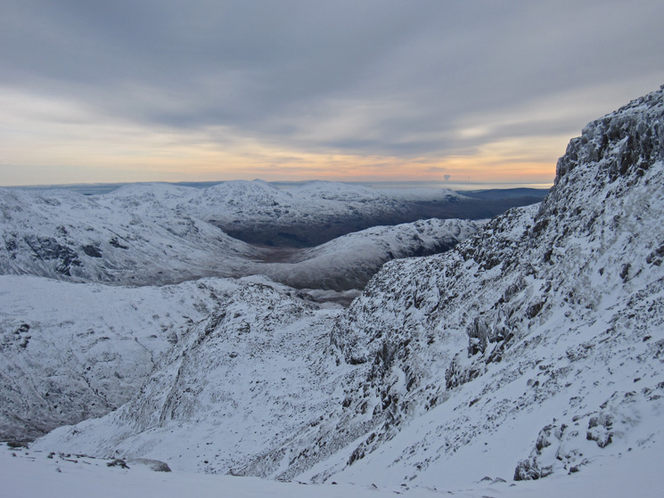 South from Broad Crag Col