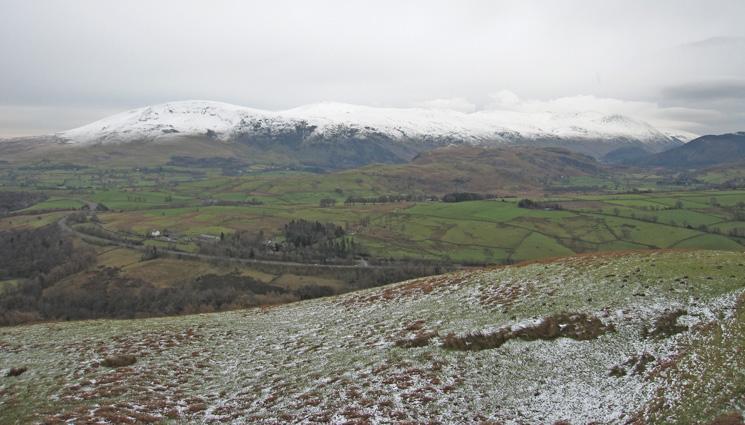 The Helvellyn ridge