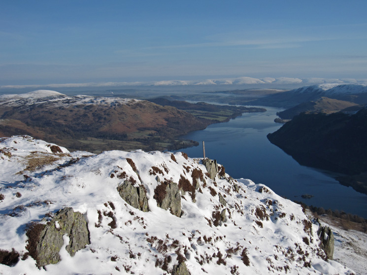 Ullswater and the North Pennines from Heron Pike