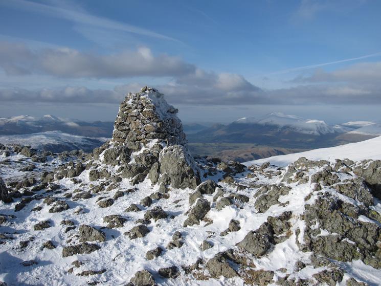 Raise's summit cairn