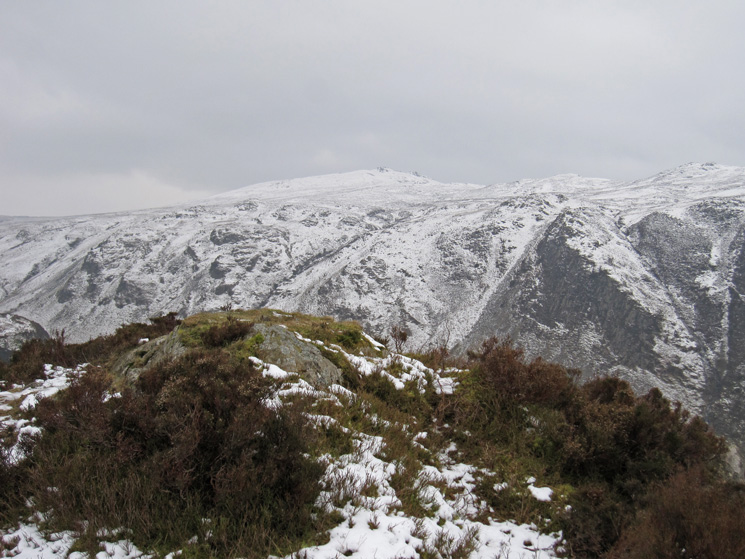 High Seat from The Benn's summit