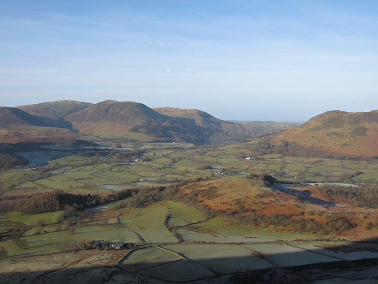 Looking west to Loweswater
