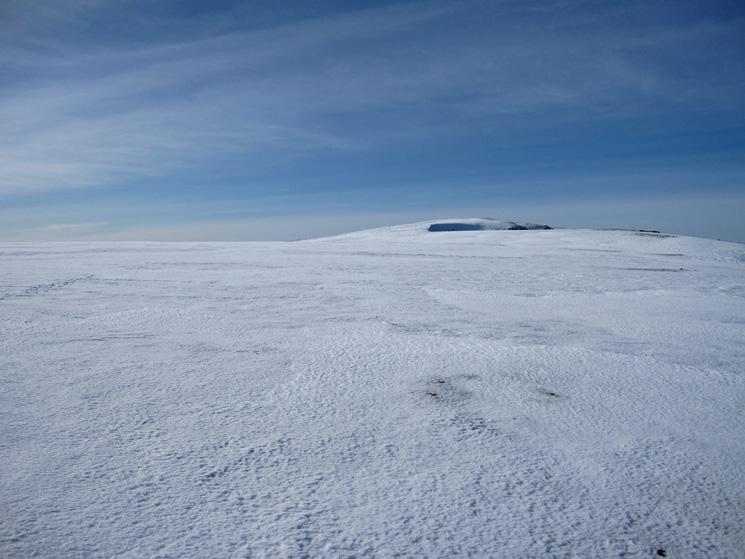 The flat top of Grasmoor