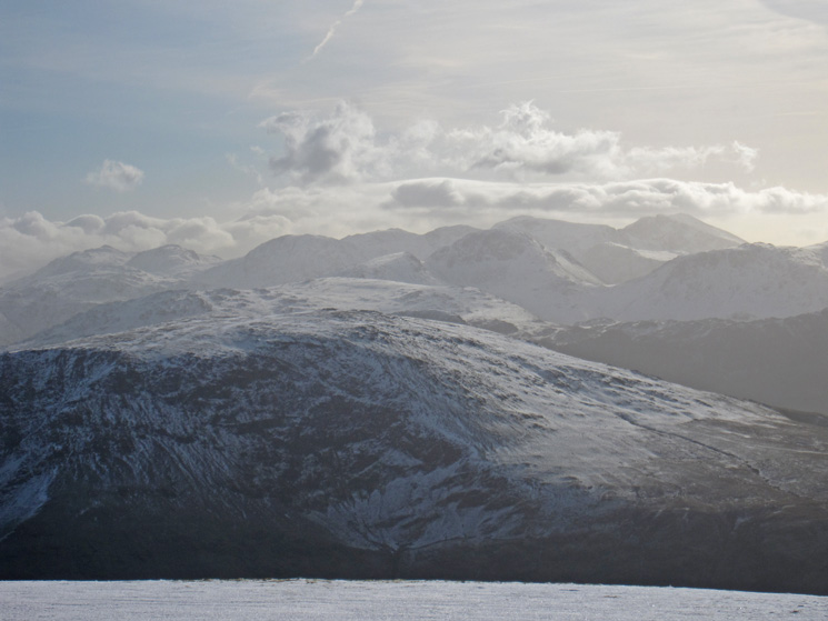 Over Robinson to Great Gable and the Scafells