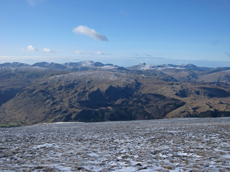 West to Scafell Pike