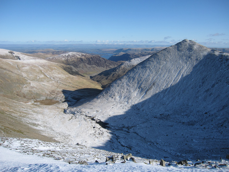 Catstycam and Brown Cove from Lower Man's summit