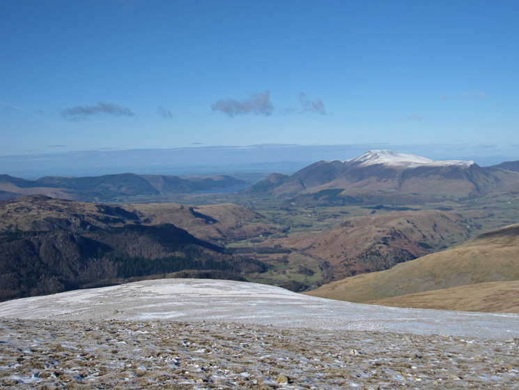 Towards Skiddaw from White Side