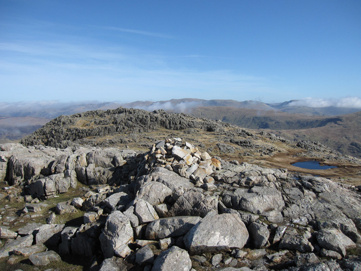 Glaramara's summit, or is the other top higher?