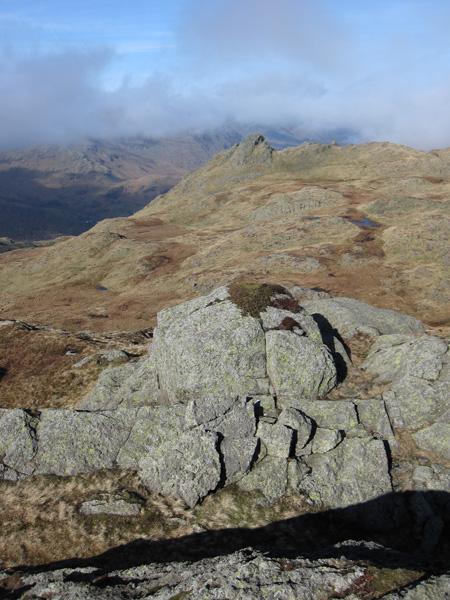 Rosthwaite Cam from Dovenest Crag top