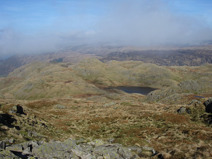 Tarn at Leaves with Bessyboot on the left