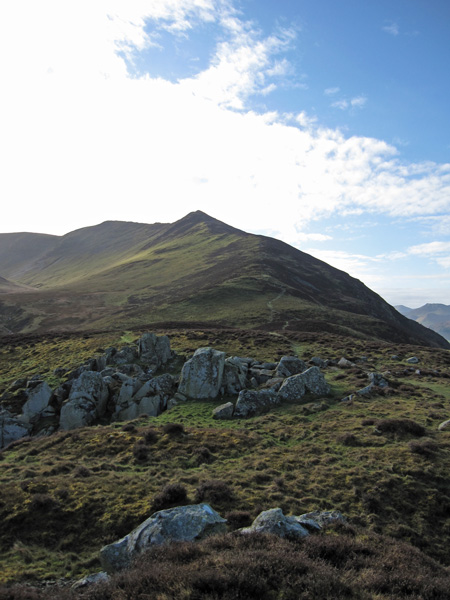 The Edge leading to Ullock Pike from Watches