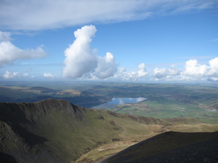 Ullock Pike, Southerndale and the foot of Bassenthwaite Lake