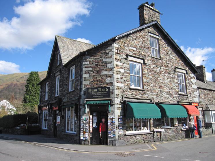 Sam Read Bookseller, Grasmere, established 1887