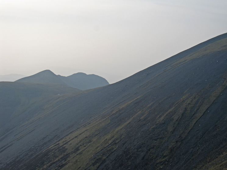 Longside Edge and the slopes of Skiddaw