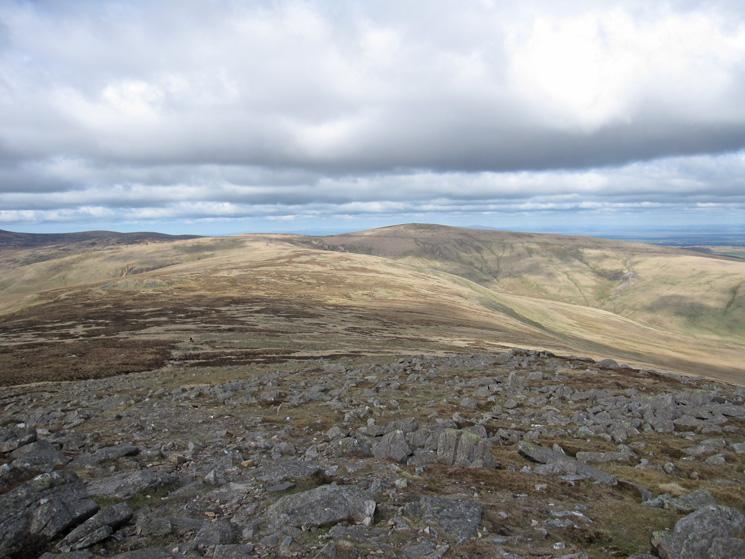 The ridge to High Pike