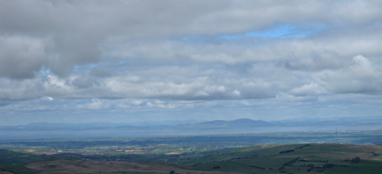 Criffel on the far side of the Solway Firth