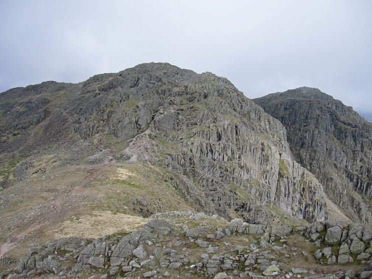 Looking to Long Top, the highest Crinkle