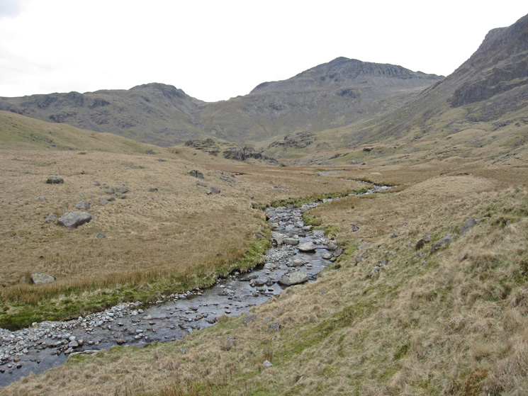 Lingcove Beck and Bowfell