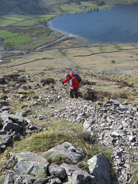 Ascending above Wastwater