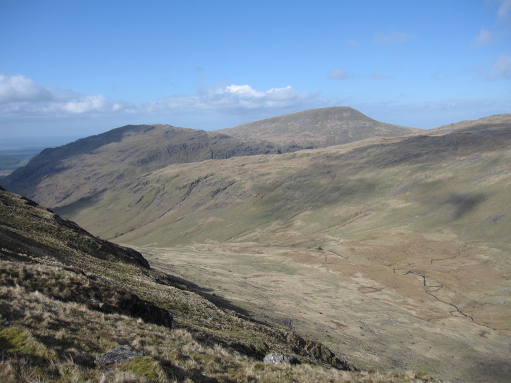 Over Beck, Middle Fell and Seatallan