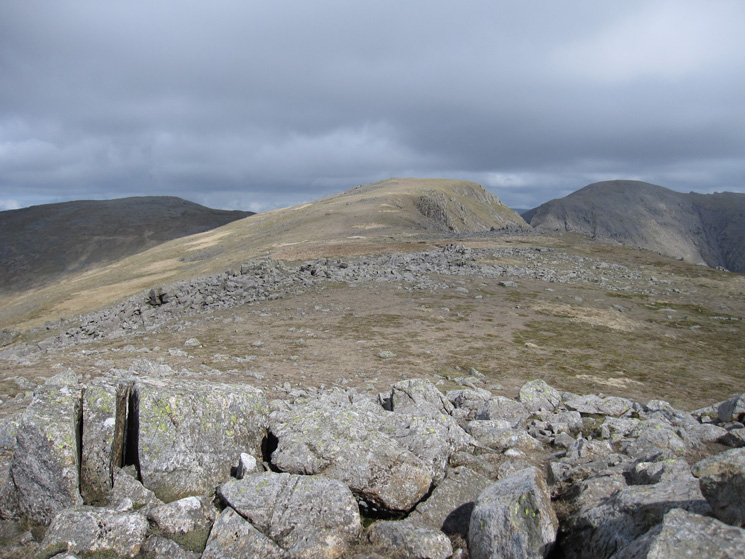 Looking towards Red Pike's summit