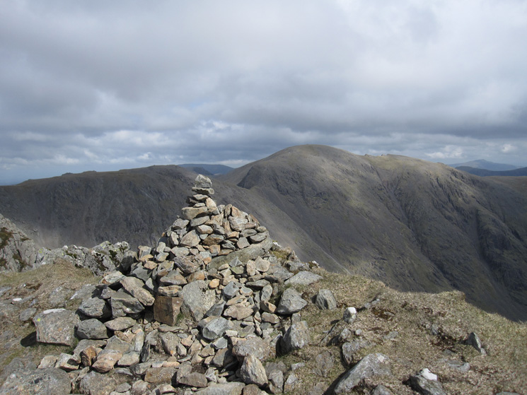 Pillar from Red Pike's summit cairn