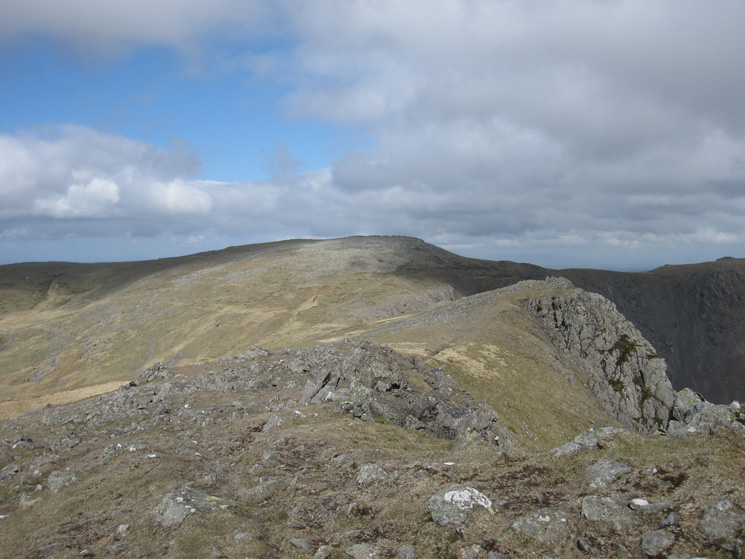 Looking towards Scoat Fell from Red Pike's summit
