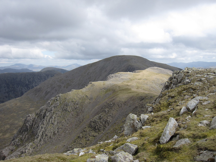 Black Crag and Pillar from Scoat Fell