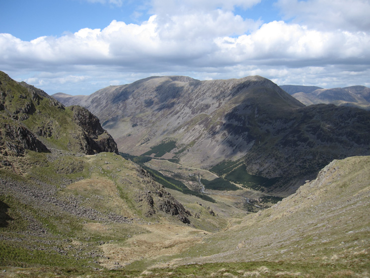 Looking across Ennerdale to High Stile and High Crag