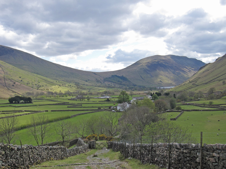 Almost back at Wasdale Head
