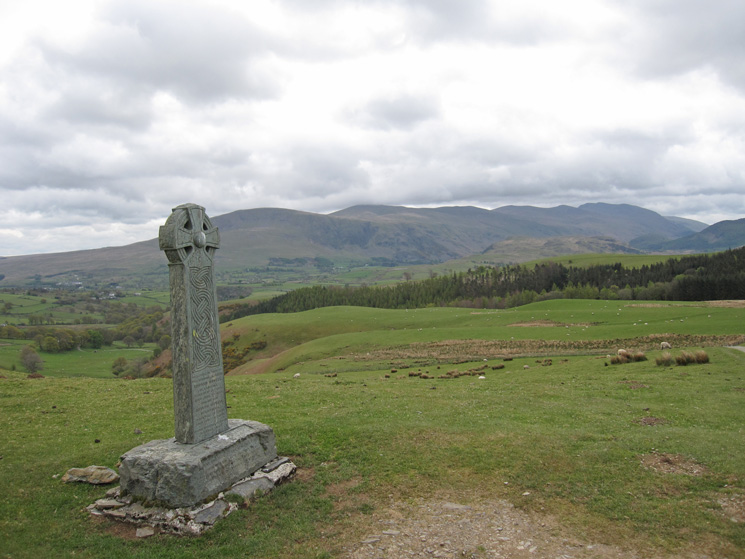 The Helvellyn range from the Hawell Monument