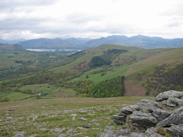 Looking across to Latrigg and Derwent Water