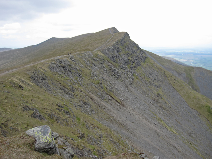 Looking to Gategill Fell Top from Blease Fell