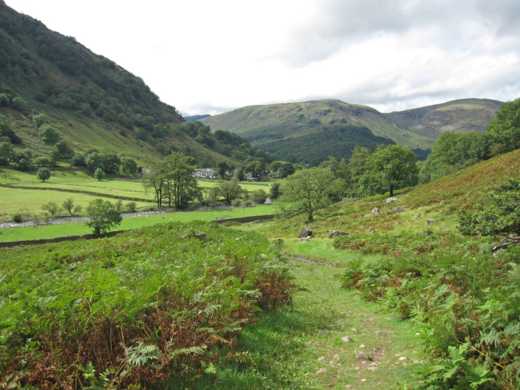 Looking back towards Stonethwaite