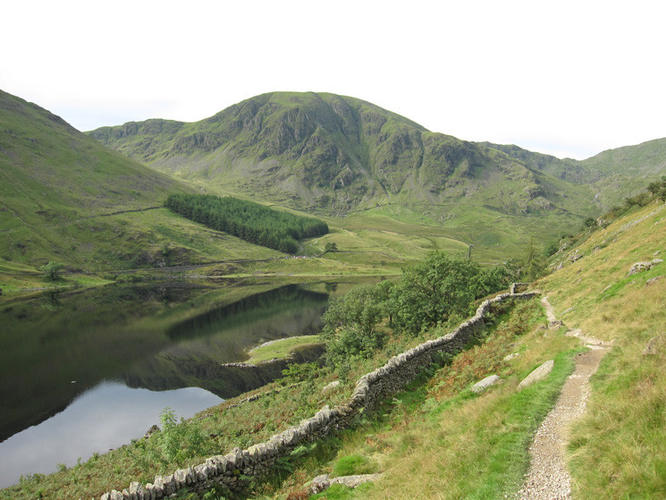 Harter Fell from the path round to Riggindale