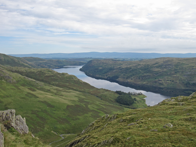 Haweswater with the North Pennines in the distance