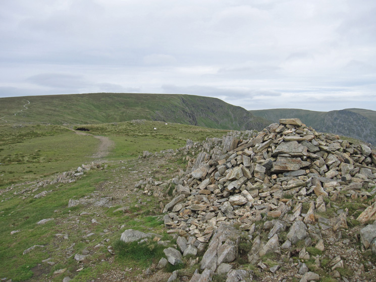 Looking back to High Street from Mardale Ill Bell's summit