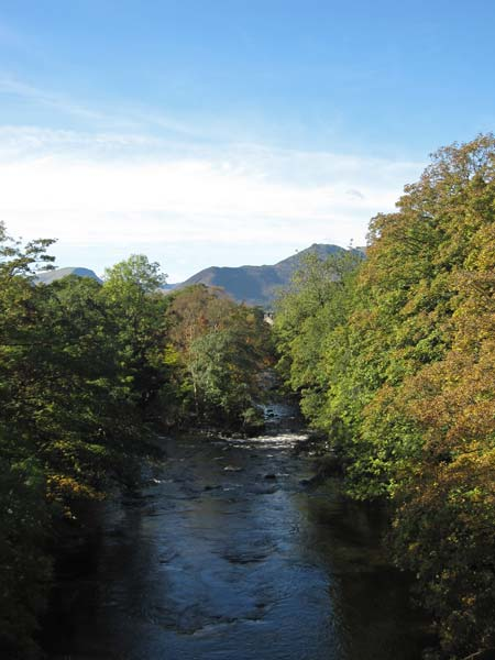 The River Greta and Causey Pike