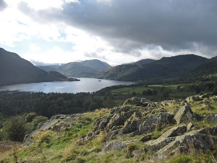 Ullswater from our ascent