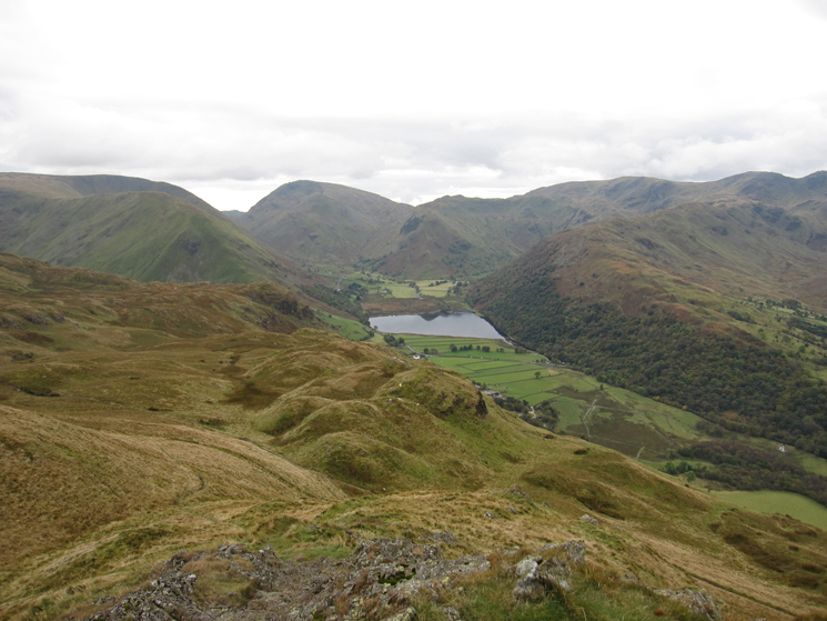 Brothers Water from the summit of Angletarn Pikes