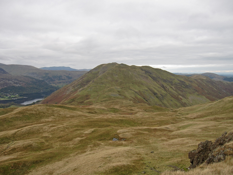 Place Fell from the summit of Angletarn Pikes