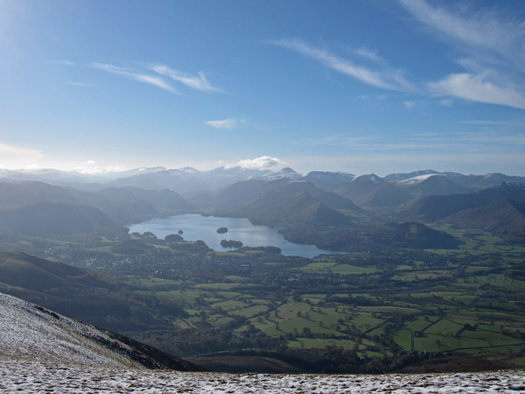 South to Derwent Water and the central Lakes