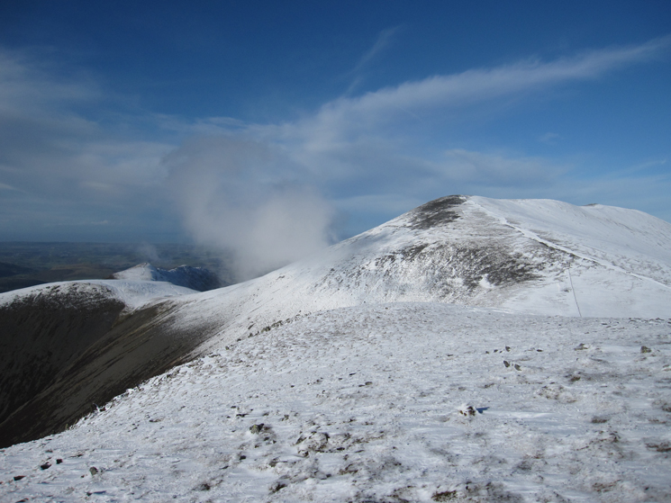 Skiddaw from Little Man's summit