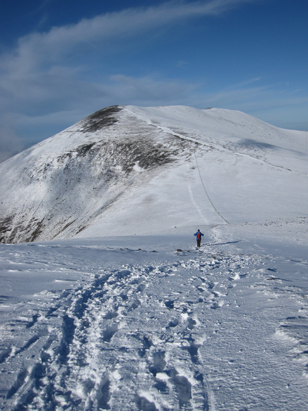 Heading to Skiddaw