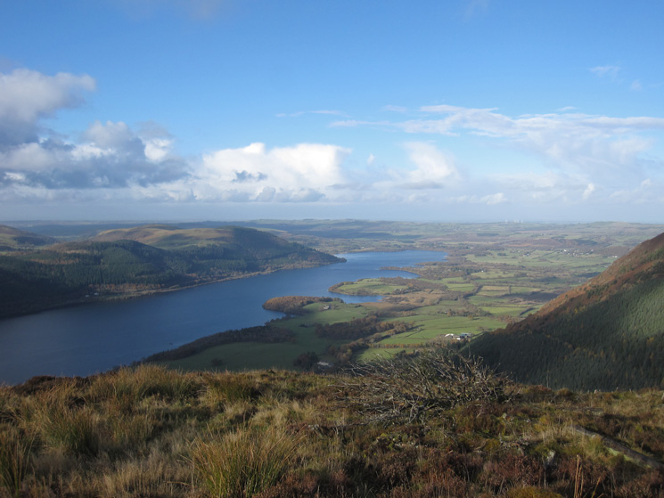 The north end of Bassenthwaite Lake