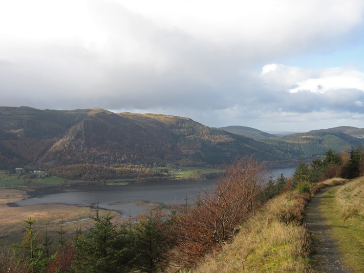 The head of Bassenthwaite Lake and Barf